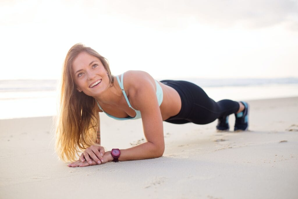 Pilates Studio Owner Smiling and showing strength