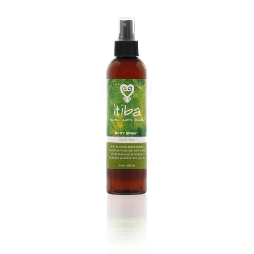 Itiba carib lime body spray for caribbean herbal healing