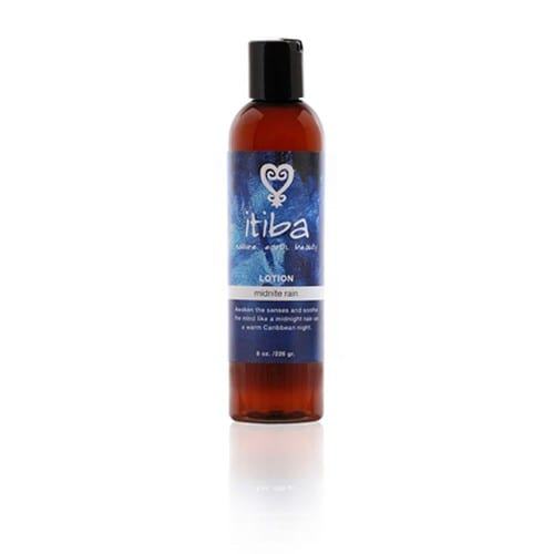 midnite rain body lotion