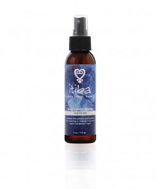 Midnight rain hair and body serum