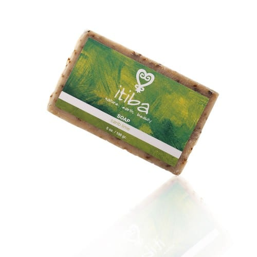 itiba natural carib lime soap