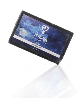 itiba midnight rain soap with essential oils