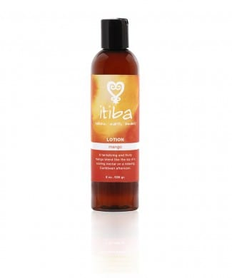 itiba mango lotion for natural skin care