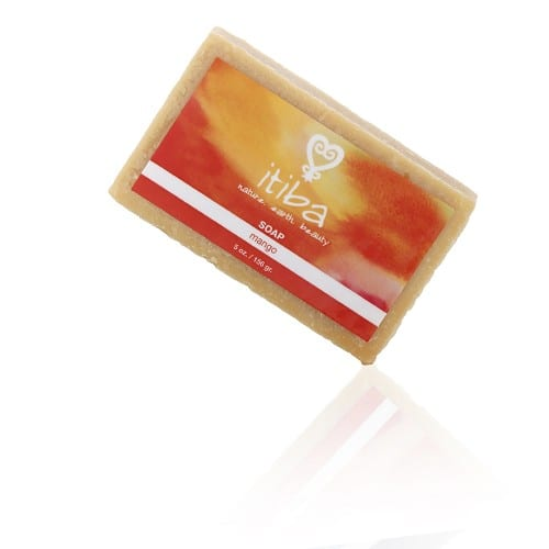 Itiba beauty mango essential oil soap