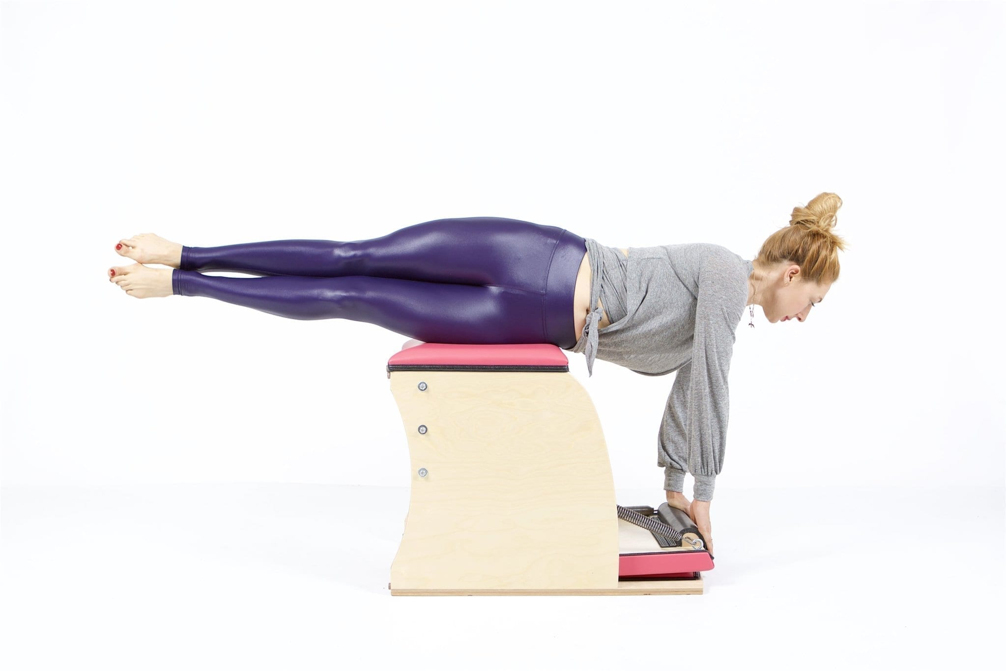 Twisting Swan on the Wunda Chair | Online Pilates Classes