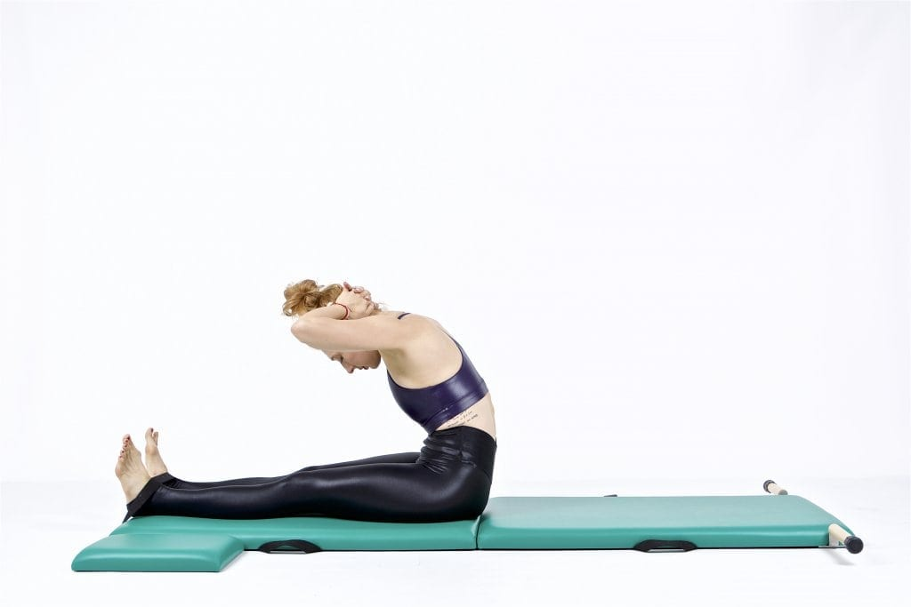 Neck Pull on the Mat | Online Pilates Classes
