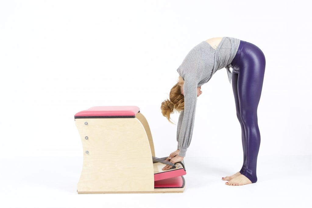 Push Down from the Front on the Wunda Chair - Online Pilates Classes
