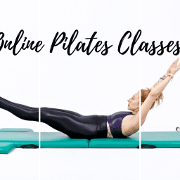 Online Pilates Classes Double Leg Stretch Black OPC