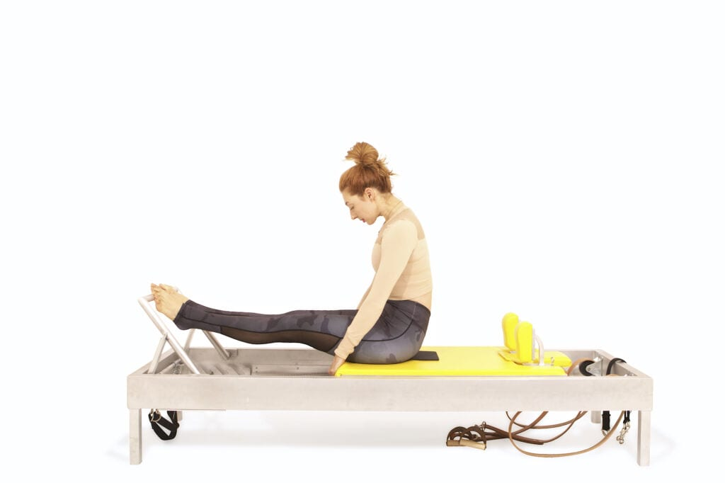 Stomach Massage on the Reformer | Online Pilates Classes