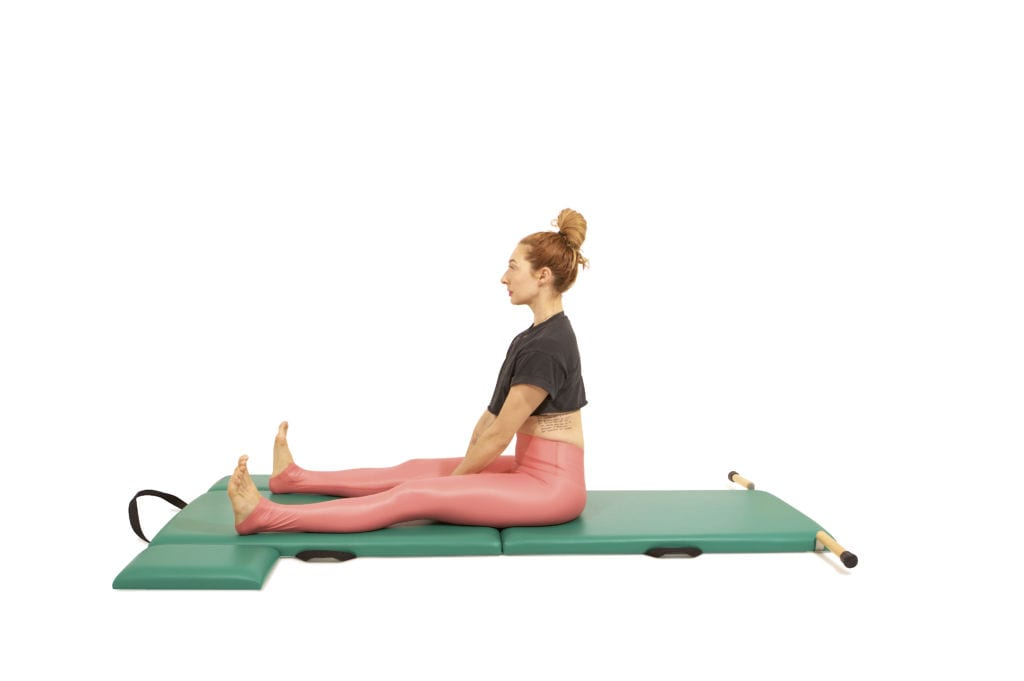 Spine Stretch on the Mat | Online Pilates Classes