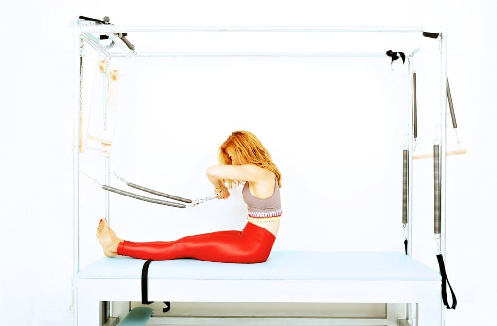 Rowing 1 & 2 on the Cadillac | Online Pilates Classes