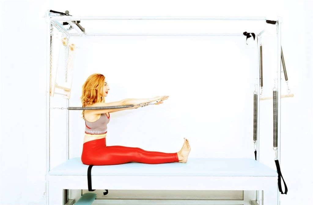 Rowing 3 & 4 on the Cadillac | Online Pilates Classes