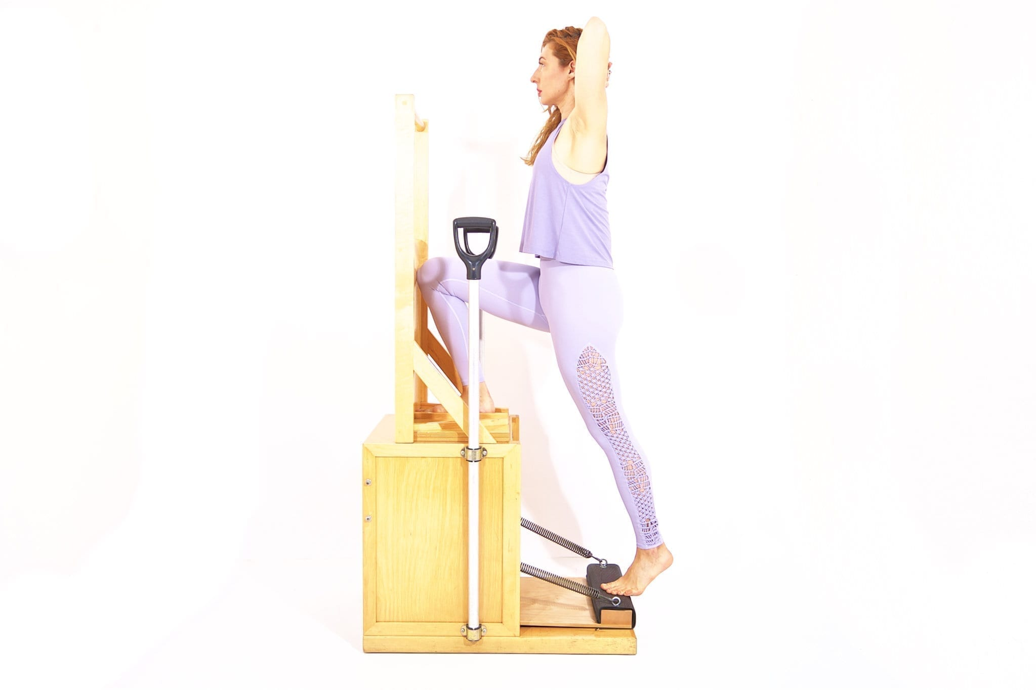 Going Up Front on the High Chair | Online Pilates Classes