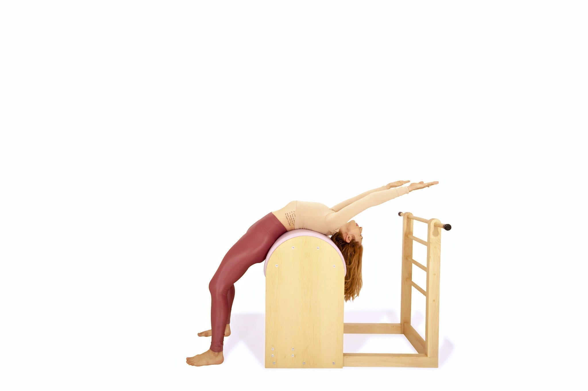 Back Stretch on the Ladder Barrel | Online Pilates Classes