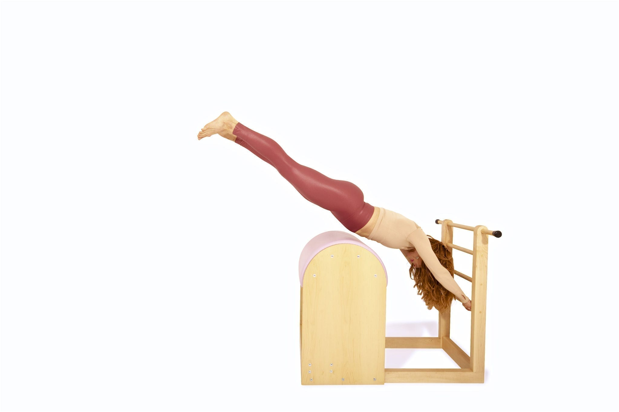 Jumping Stomach on the Ladder Barrel | Online Pilates Classes