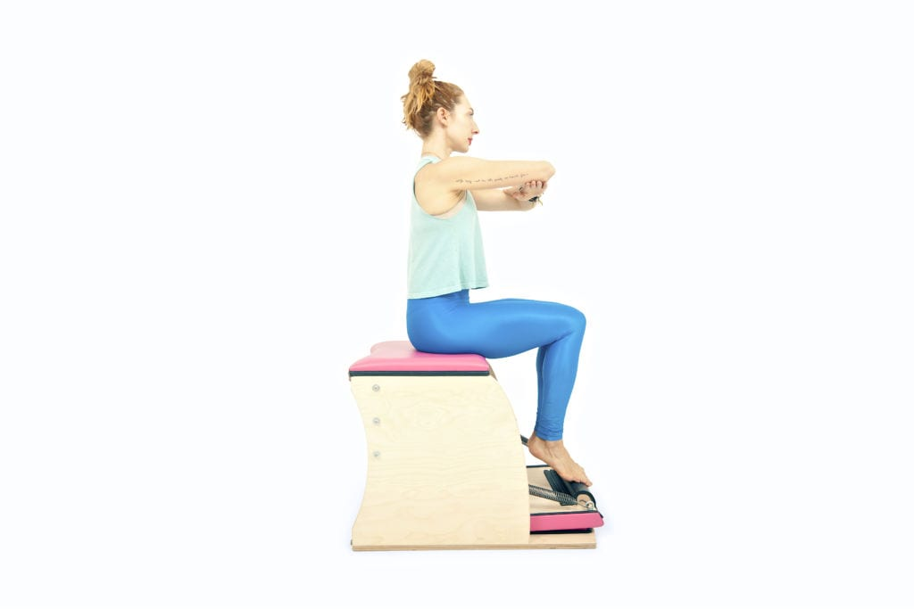 Footwork on the Wunda Chair | Online Pilates Classes