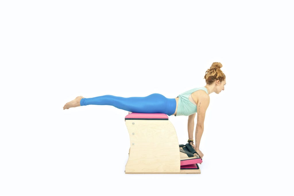 Swan on the Wunda Chair | Online Pilates Classes