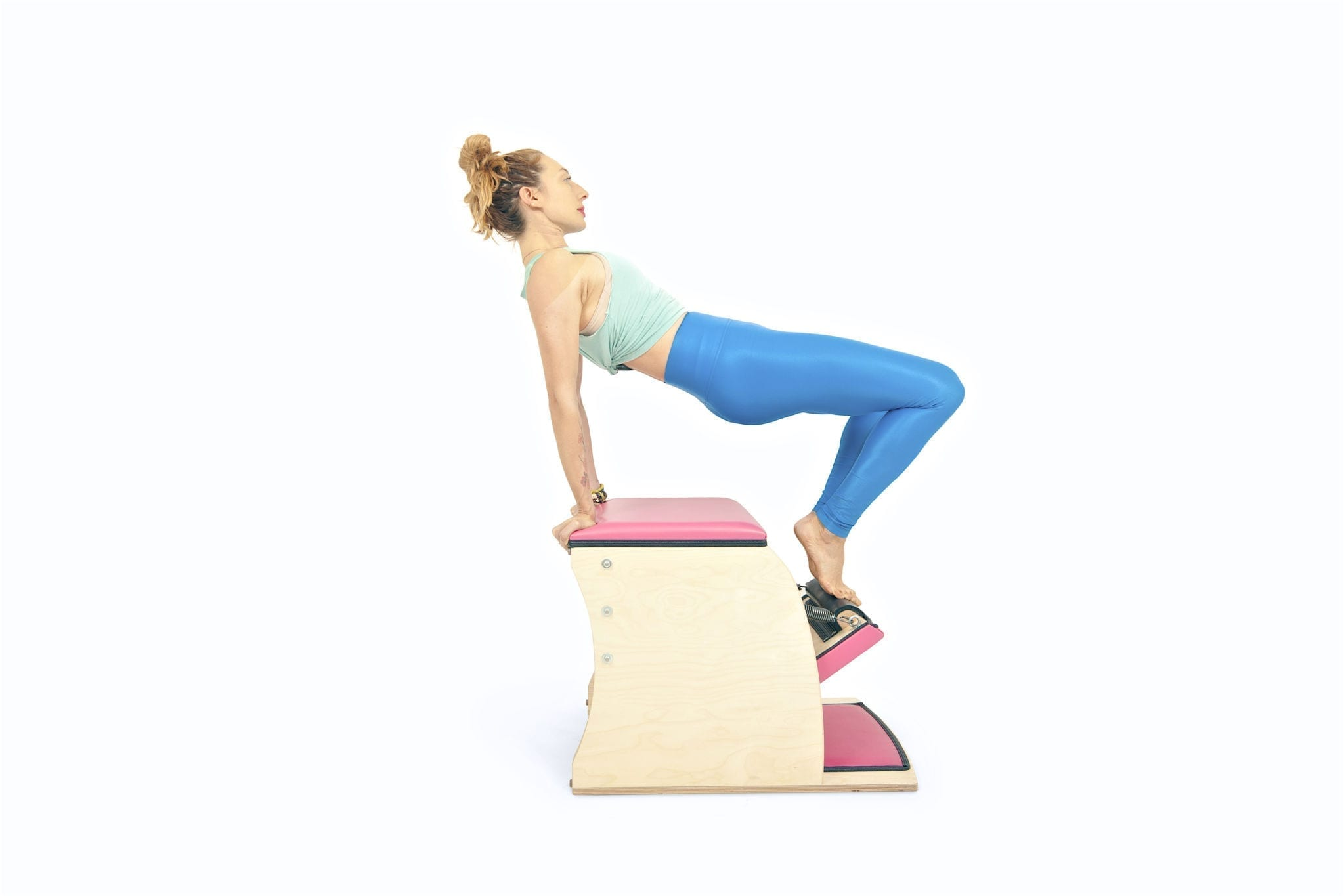 Table on the Wunda Chair | Online Pilates Classes