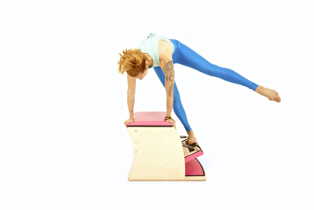 Side Pull Ups on the Wunda Chair | Online Pilates Classes