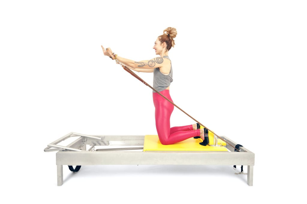Arm Circles on the Reformer | Online Pilates Classes