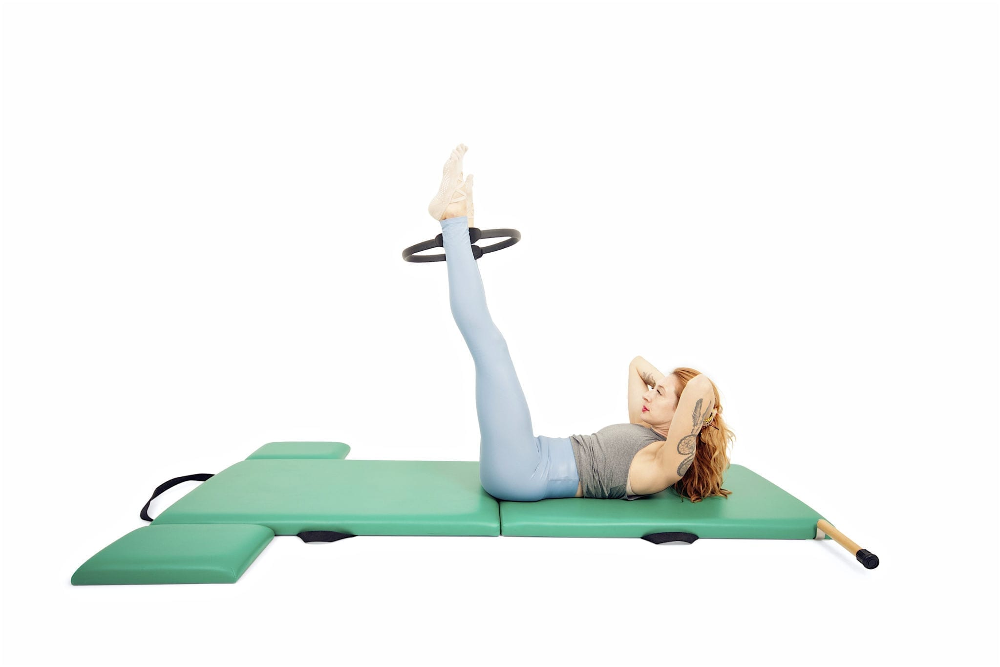 Ab Series with the Magic Circle on the Mat | Online Pilates Classes