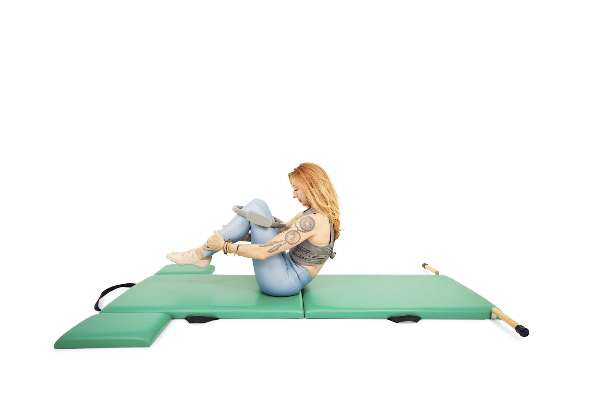 Rolling Like a Ball with Magic circle | Online Pilates Classes