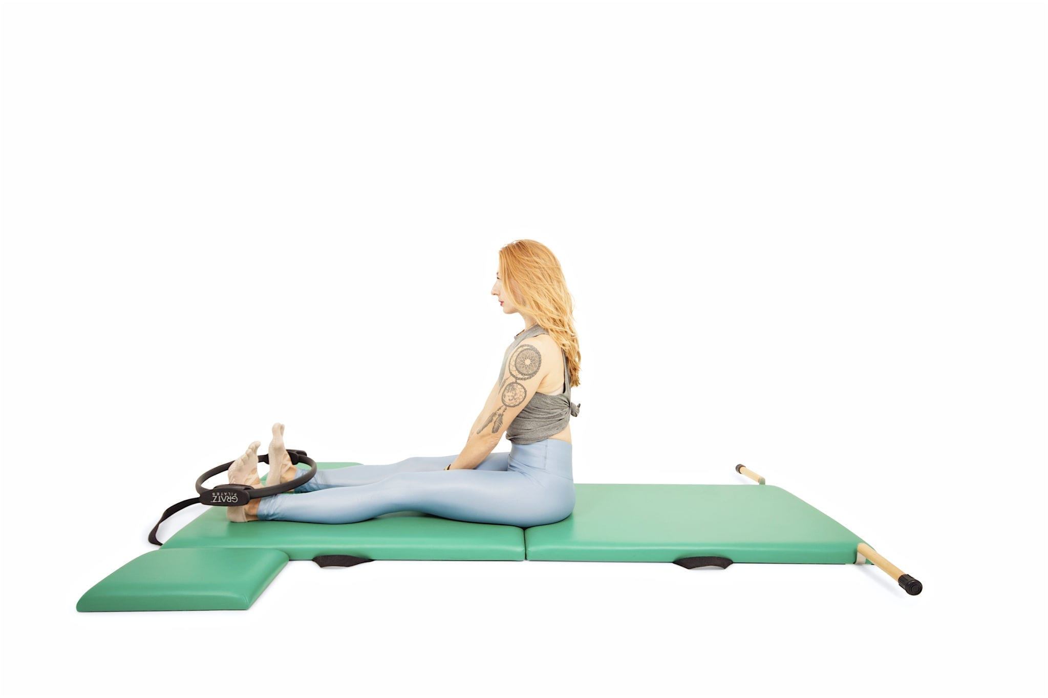 Tips for Roll Up, Neck Pull and More with the Magic Circle on the Mat | Online Pilates Classes