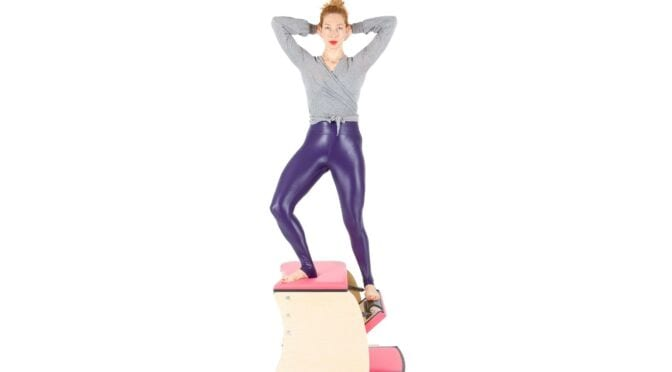 going up side on the wunda chair | online pilates classes