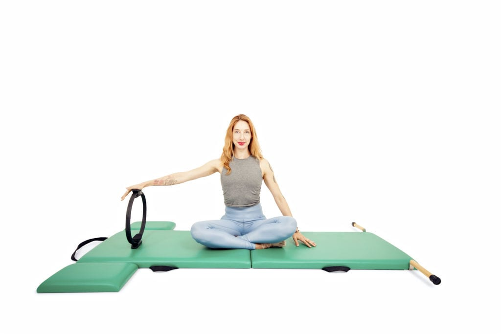Connect to Your Back with the Magic Circle on the Mat | Online Pilates Classes