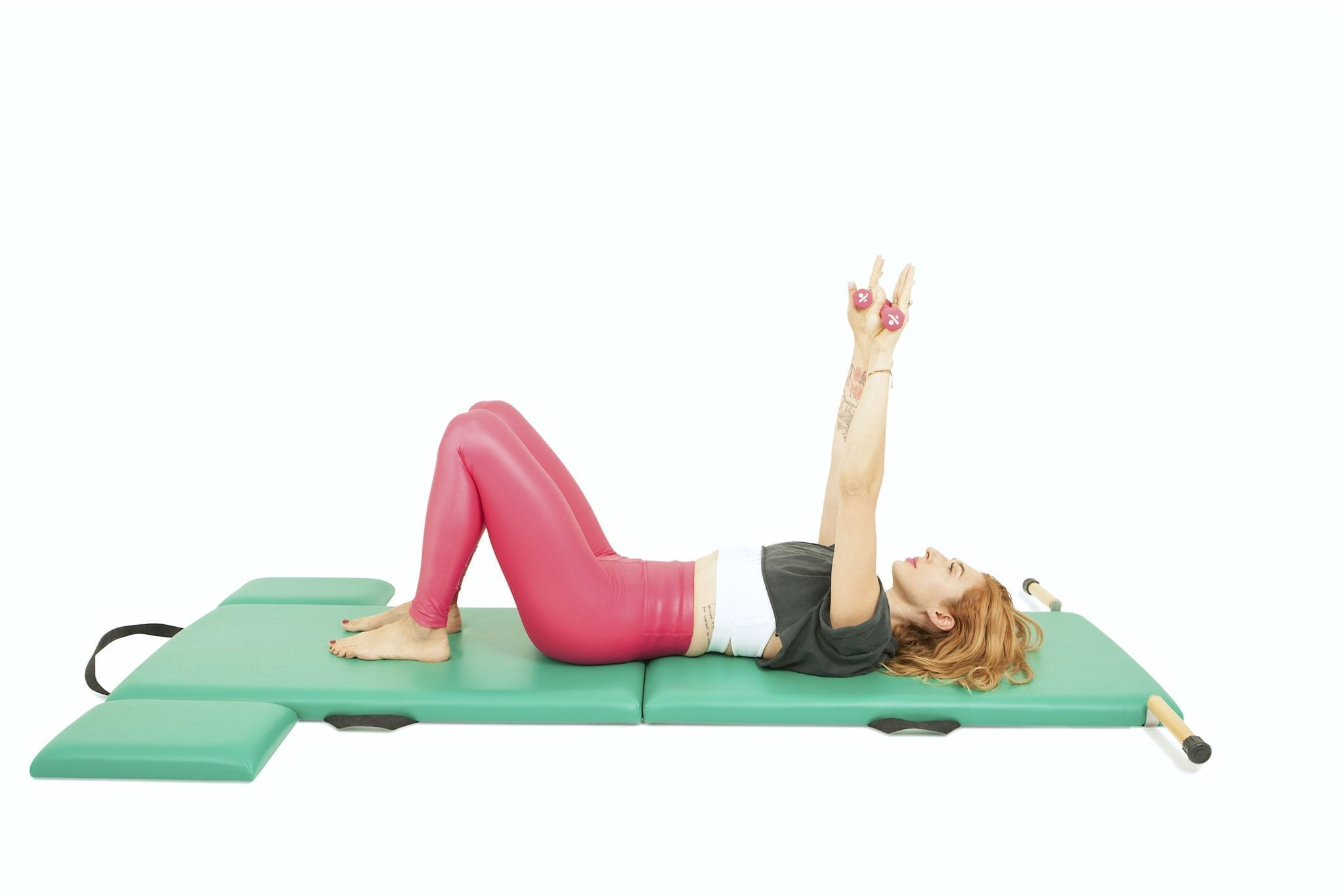 Breathing with Weights on the Mat | Online Pilates Classes
