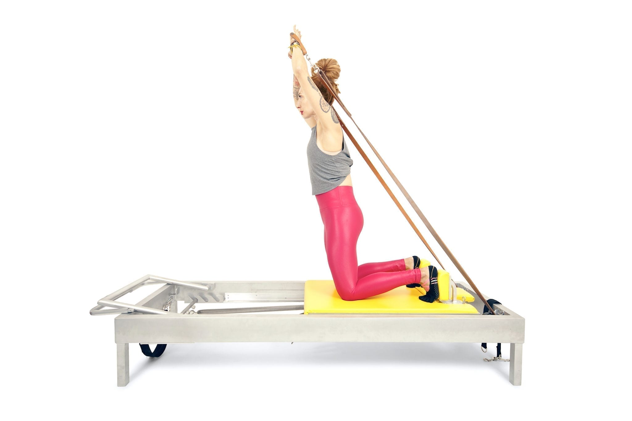 Kneeling Shave and Hug on the Reformer | Online Pilates Classes