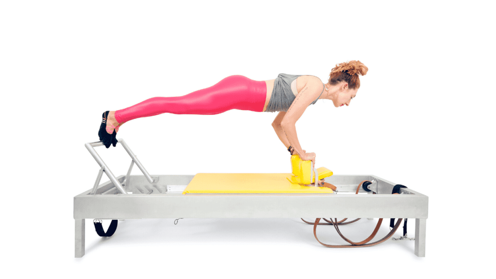 Control Balance Front on the Reformer | Online Pilates Classes