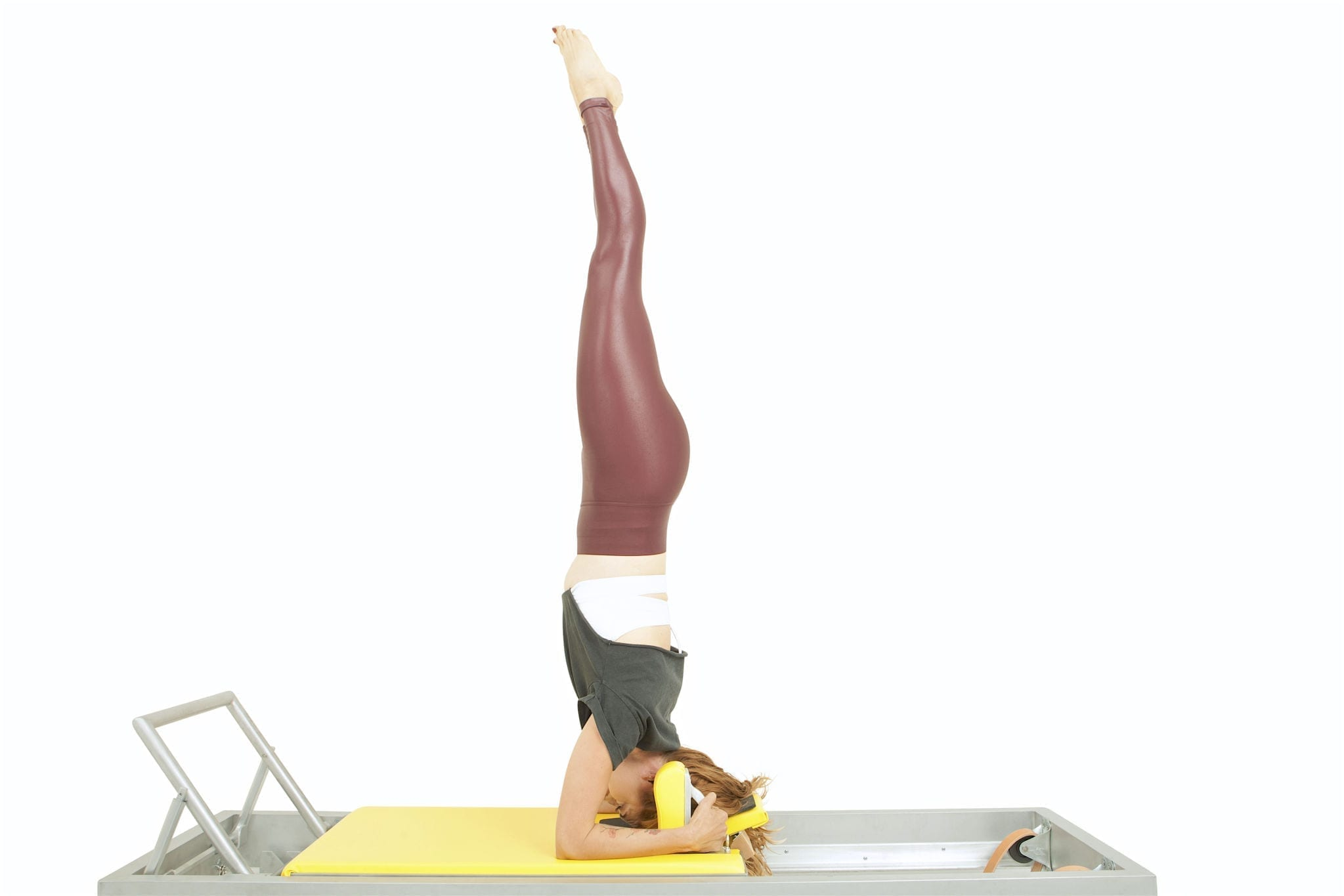 Headstand 1 on the Reformer | Online Pilates Classes