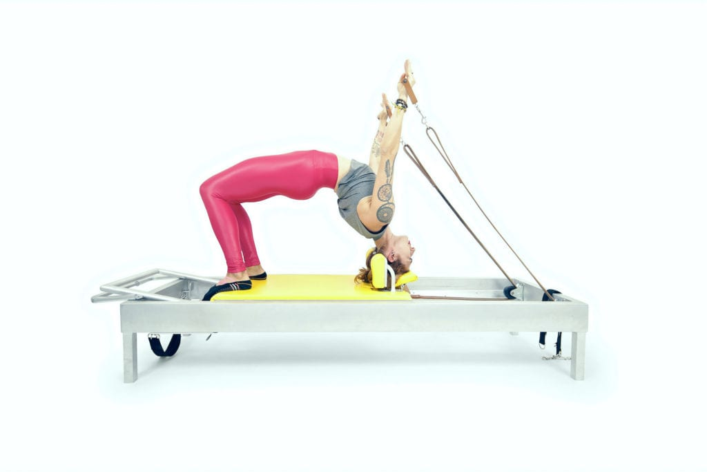 Backbend with Straps on the Reformer | Online Pilates Classes