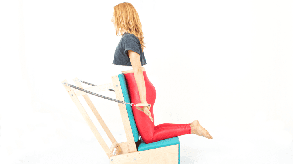Pulling Straps on the Arm Chair   Online Pilates Classes