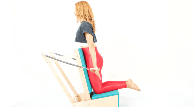 Pulling Straps on the Arm Chair | Online Pilates Classes