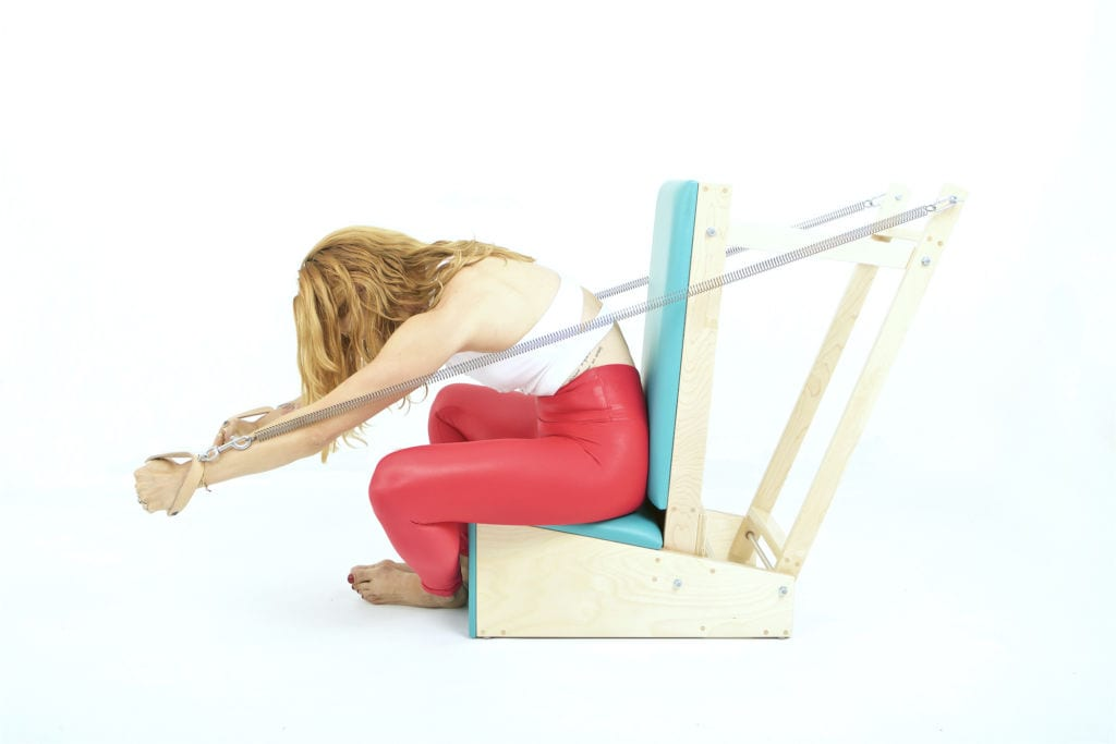 Breathing on the Arm Chair   Online Pilates Classes