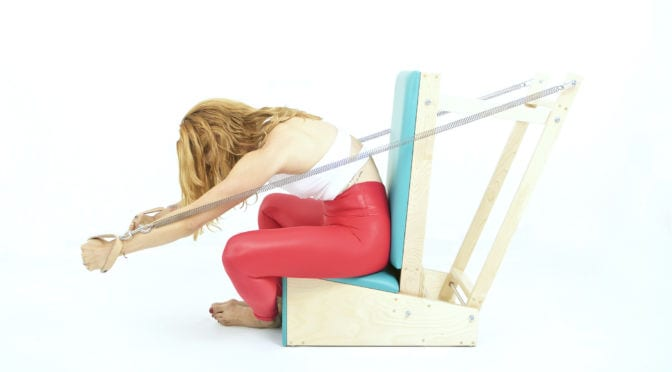 Breathing on the Arm Chair | Online Pilates Classes