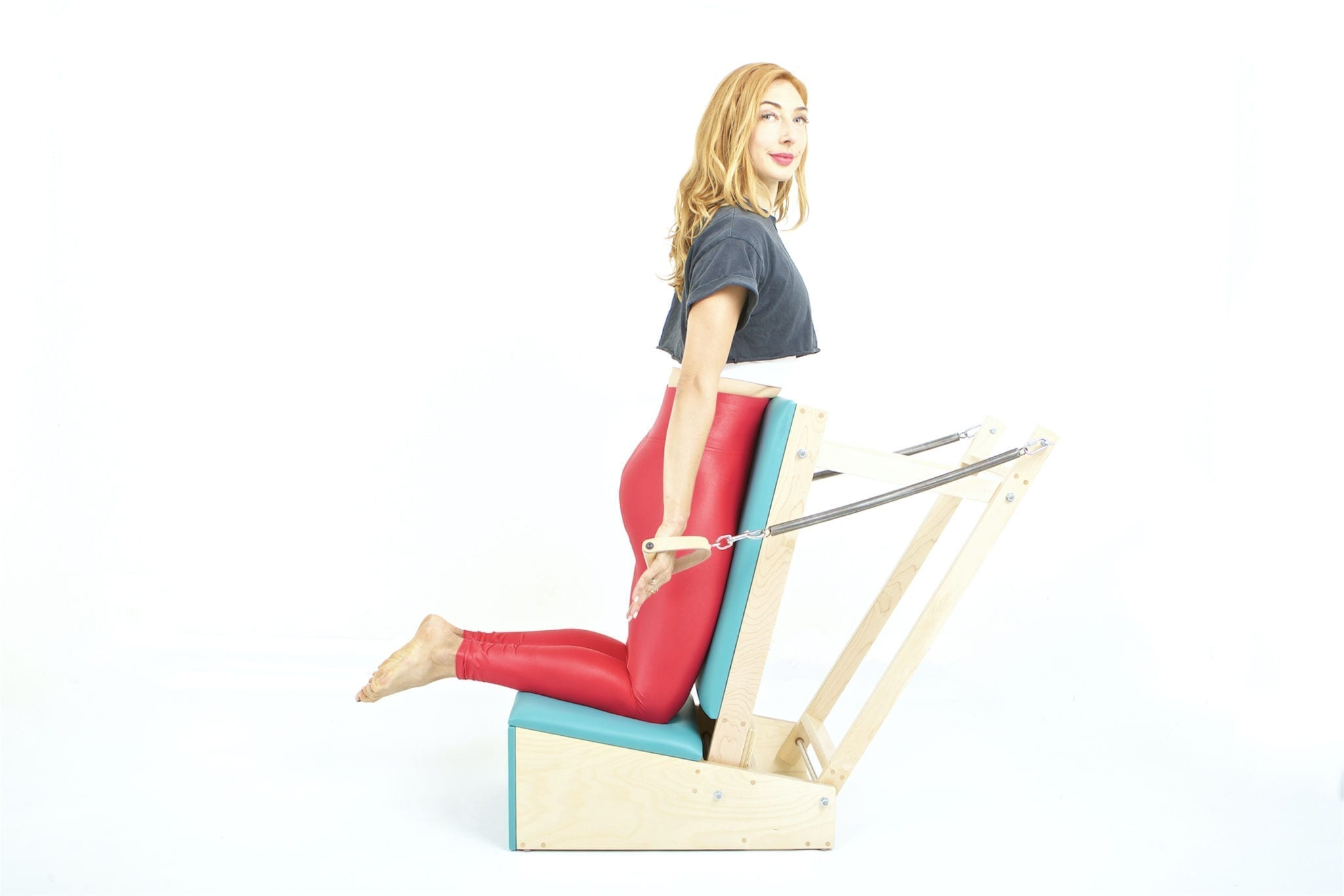 Chest Expansion on the Arm Chair | Online Pilates Classes
