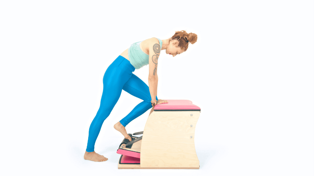 Achilles Stretch on the Wunda Chair | Online Pilates Classes