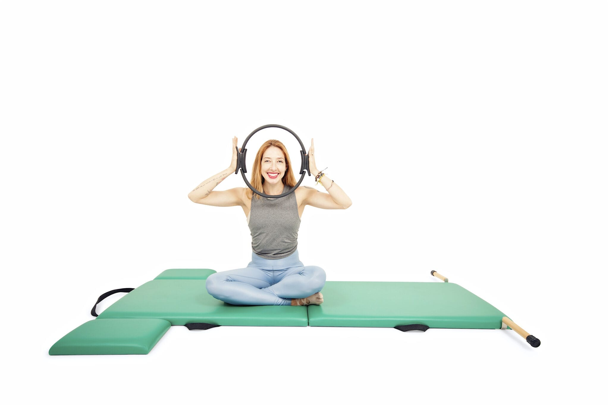Arm Exercises with the Magic Circle on the Mat | Online Pilates Classes