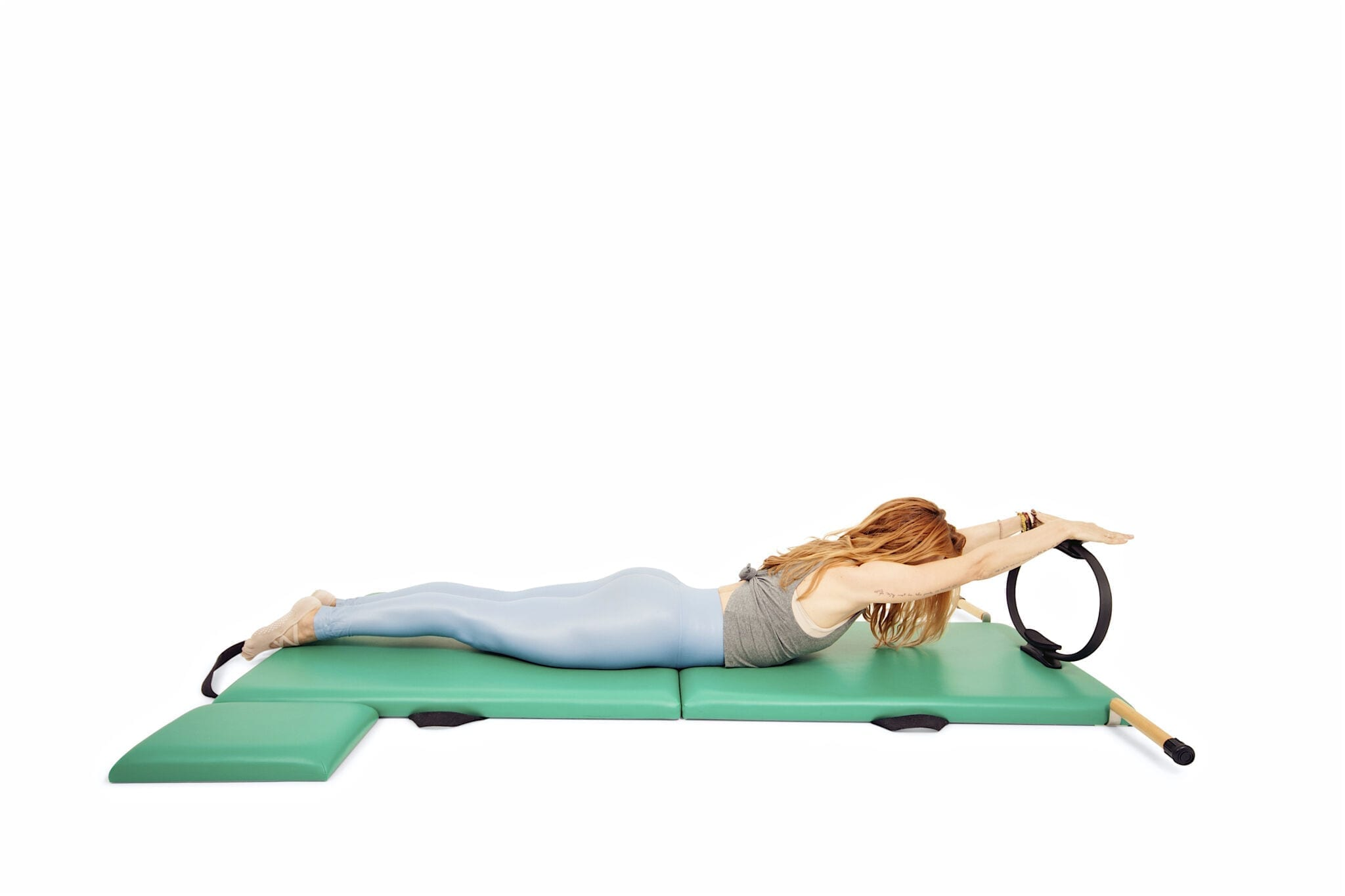 Swan with the Magic Circle on the Mat | Online Pilates Classes
