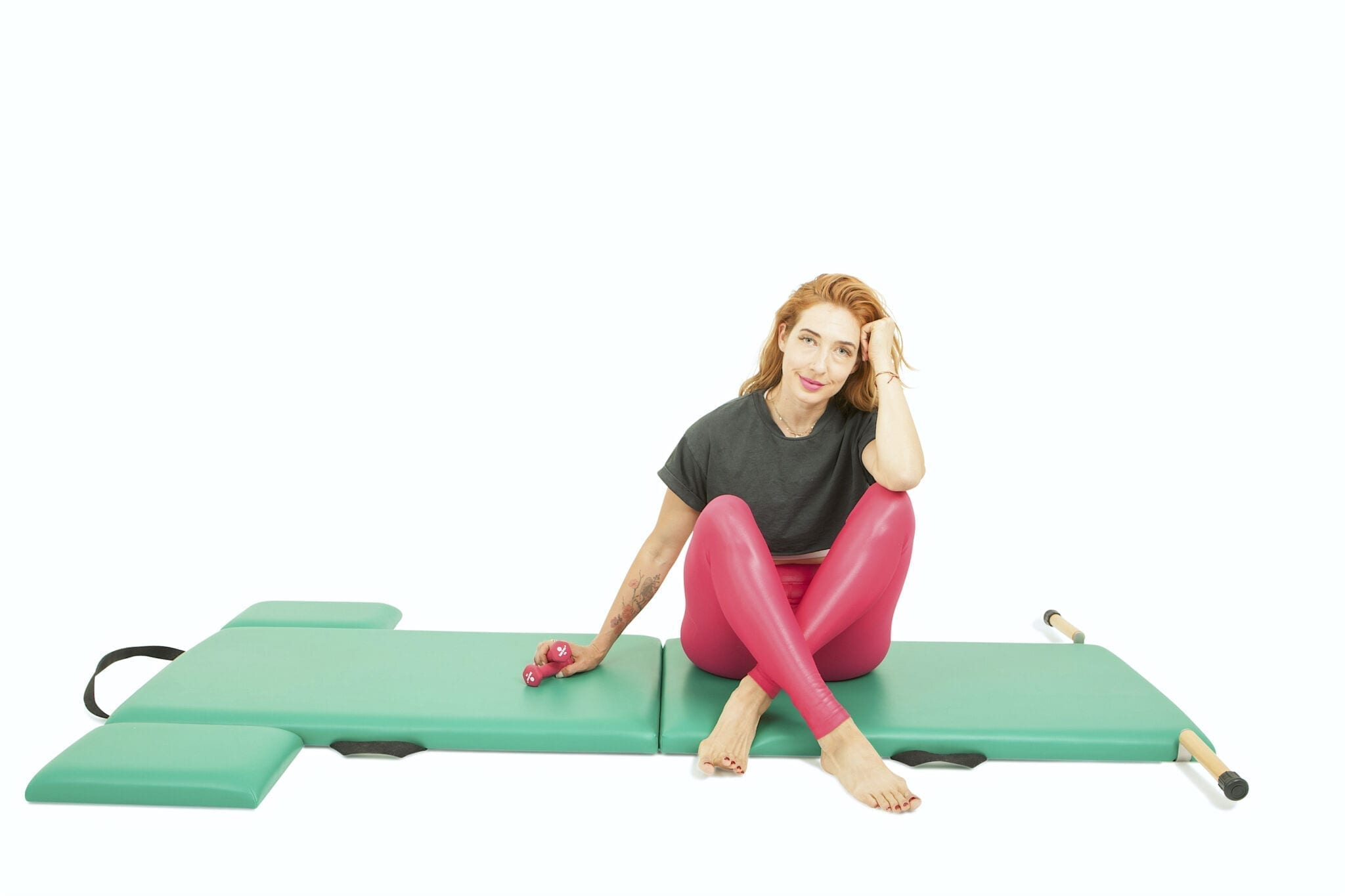 """""""Arm Springs"""" with Weights on the Mat 