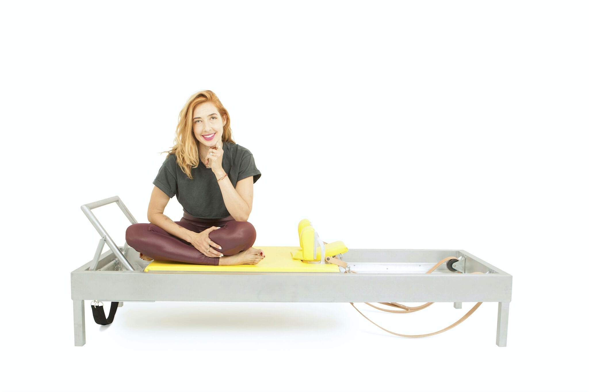 Long Stretch Series with a Ball on the Reformer | Online Pilates Classes