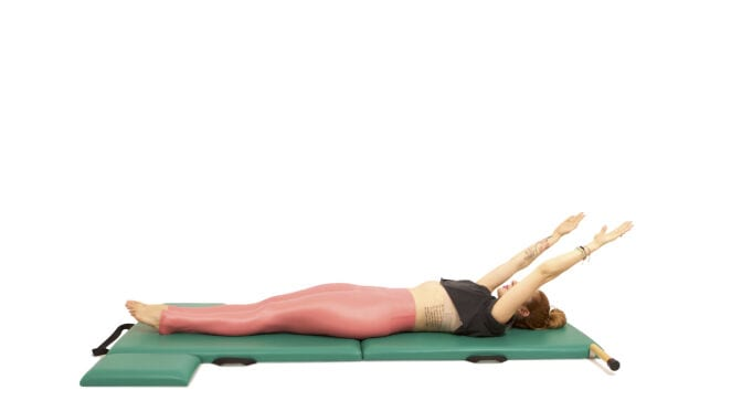 Transitions between Exercises 100 - Spine Stretch Forward on the Mat