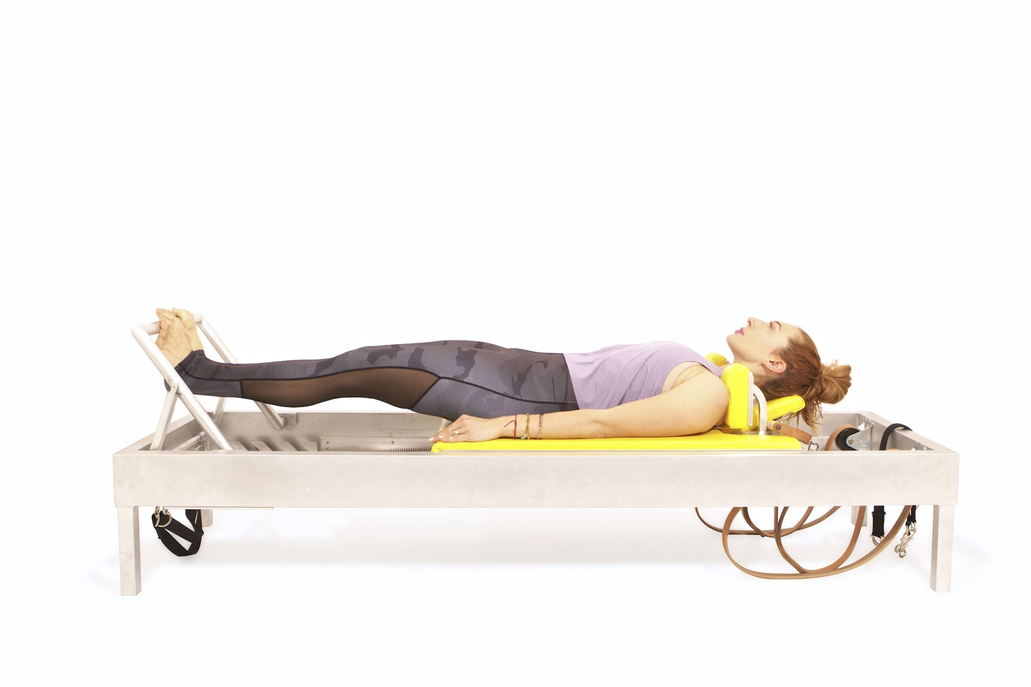 Footwork Tendon Stretch Variations on the Reformer | Online Pilates Classes