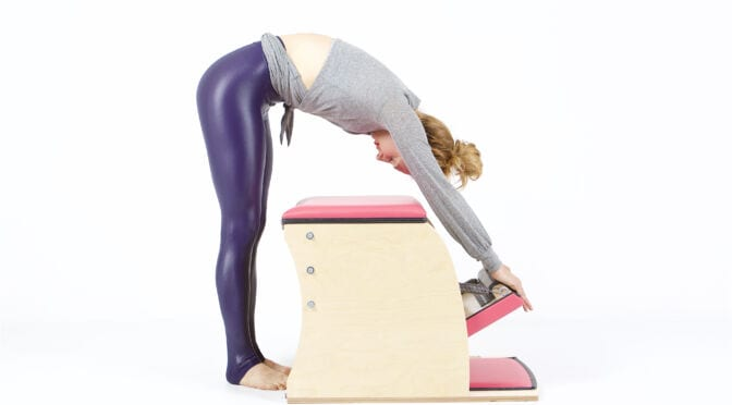 Push Down from the Back on the Wunda Chair | Online Pilates Classes