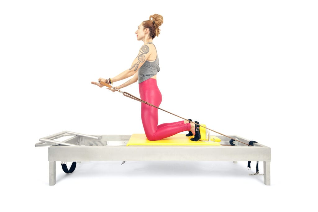 Prep for Arm Circles on the Reformer | Online Pilates Classes