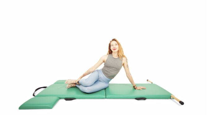 Prep for Snake and Twist on the Mat | Online Pilates Classes