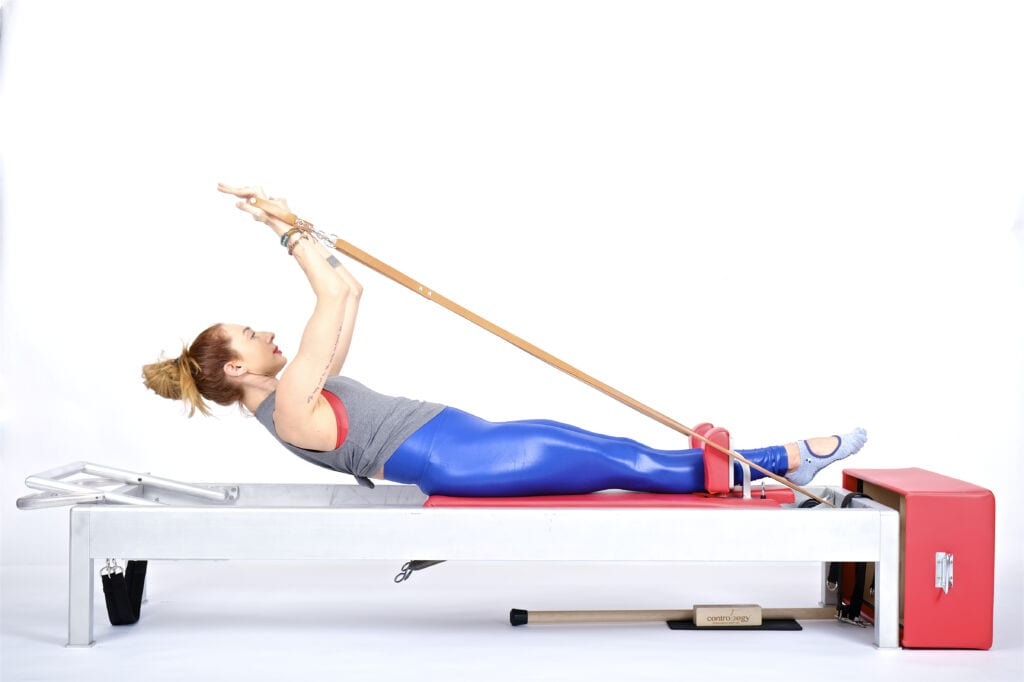 90 degrees (Rowing 2) on the Reformer | Online Pilates Classes